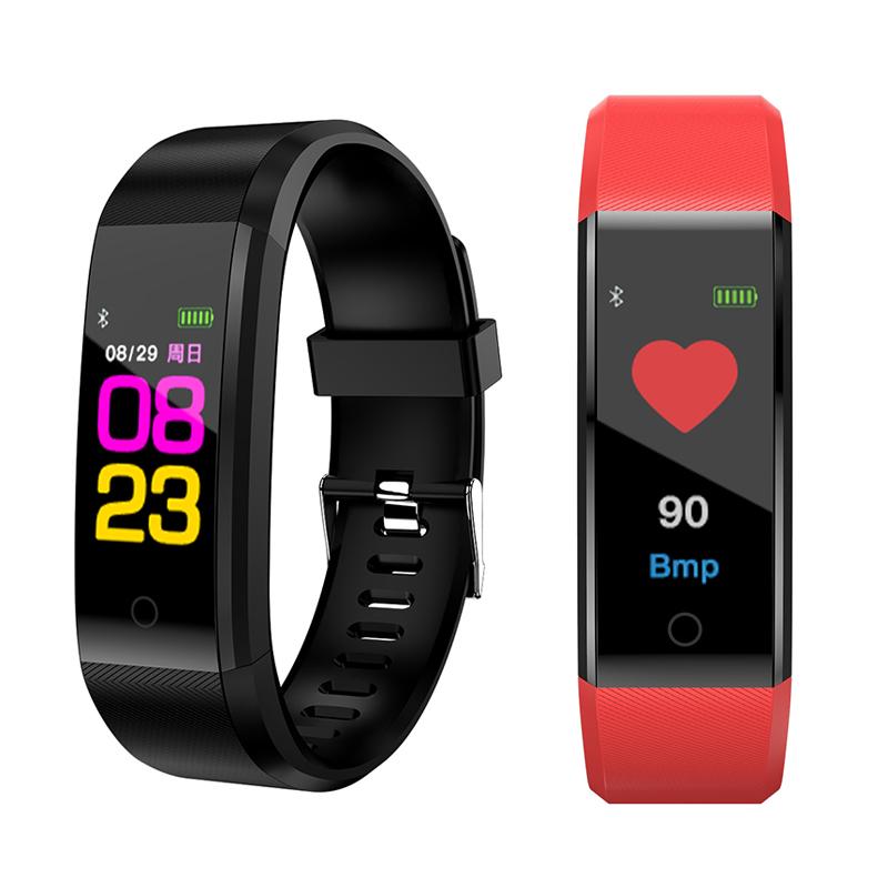 多功能彩屏智能手环男女监测血压心率健康信息电话提醒睡眠计步器运动防水手表oppo小米vivo华为苹果安卓通用