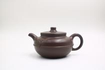 鑫海天文化宜兴纯手工原矿老紫泥中式茶具精致复古紫砂壶中品容量