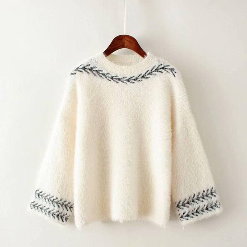 外穿毛衣女2020新款潮宽松小清新女生卫衣宽松女韩版学生春季外套