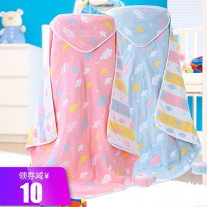 Baby gauze quilt quilt cover newborn baby bag towel autumn and winter spring and autumn cotton newborn baby supplies