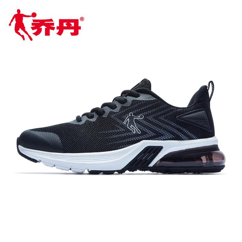 乔丹运动鞋男鞋正品2019年夏季新款经典气垫休闲鞋网面透气跑步鞋