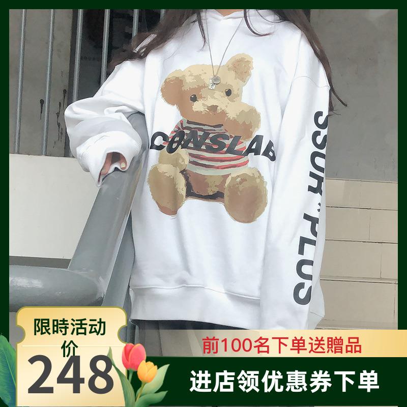 fs潮流社ssur plus联名小熊卫衣