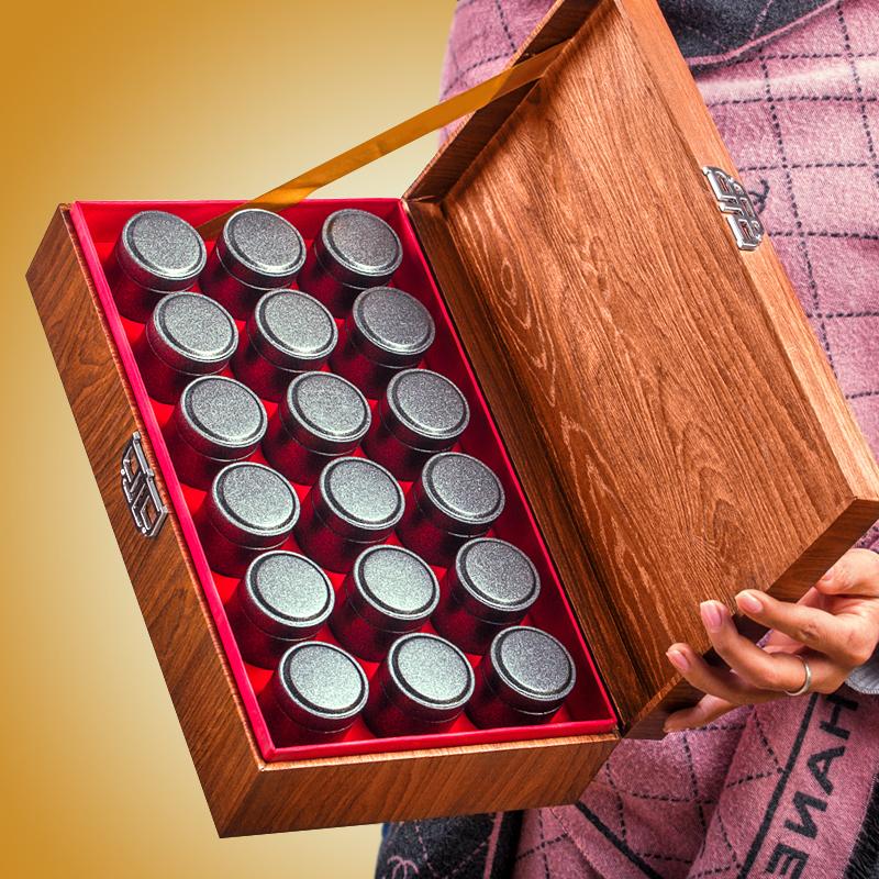 小青柑橘普柑橘10年宫廷普洱桔普茶新会陈皮熟茶叶小罐礼盒装