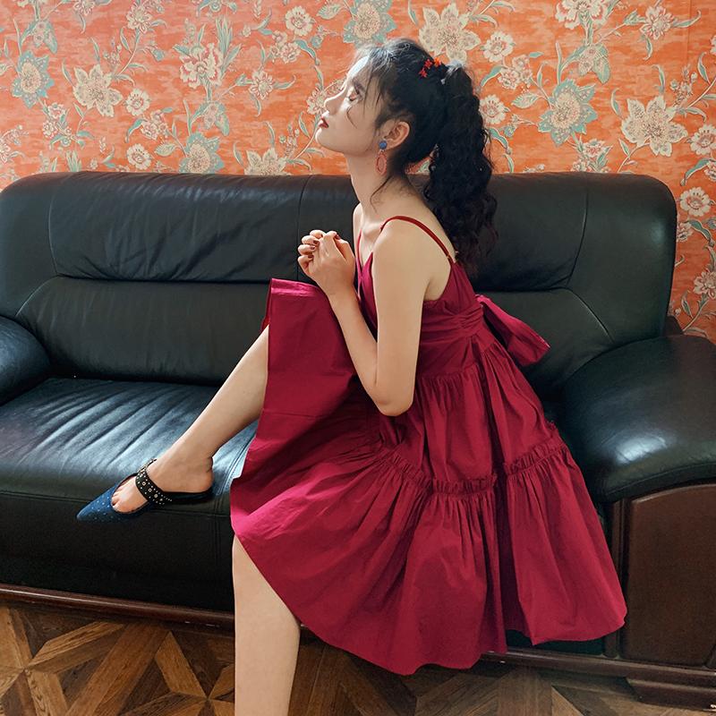 吊带连衣裙女2020春夏新款