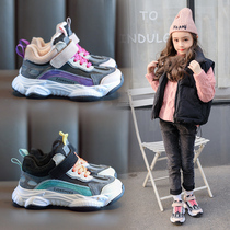 新款儿童老爹鞋男童熊猫底跑步鞋女童运动鞋时尚百搭板鞋2019