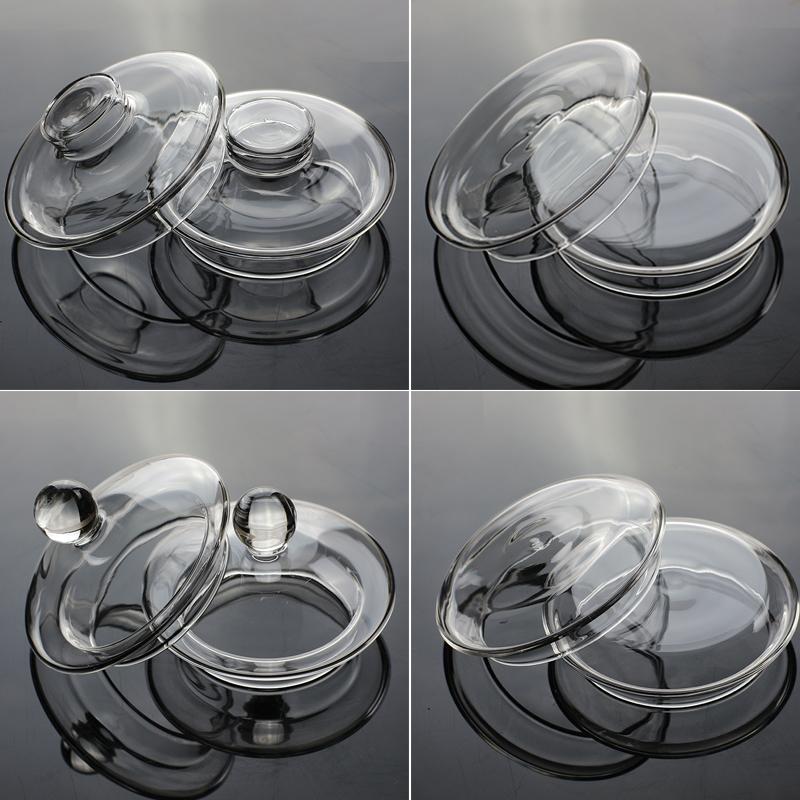 玻璃杯盖 壶盖 盖子 茶具配件 茶壶盖 花茶壶盖 玻璃壶盖 杯壶