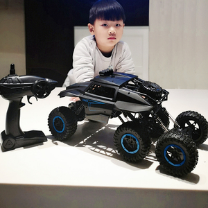 Children remote control car off-road vehicle oversized four-wheel drive charging racing climbing car boy toy 6-12 years old