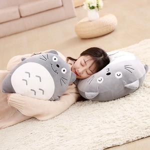 Cartoon cute lovely Chinchilla pillow elastic feather cotton cushion doll doll girl Valentine's Day gift