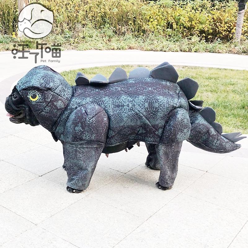 汪了个喵宠物服装狗狗恐龙衣服小型犬法斗英斗雪纳瑞变身哥斯拉装