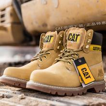 CAT男鞋女鞋卡特大黄靴经典id11丁靴情am装鞋PWC44100940