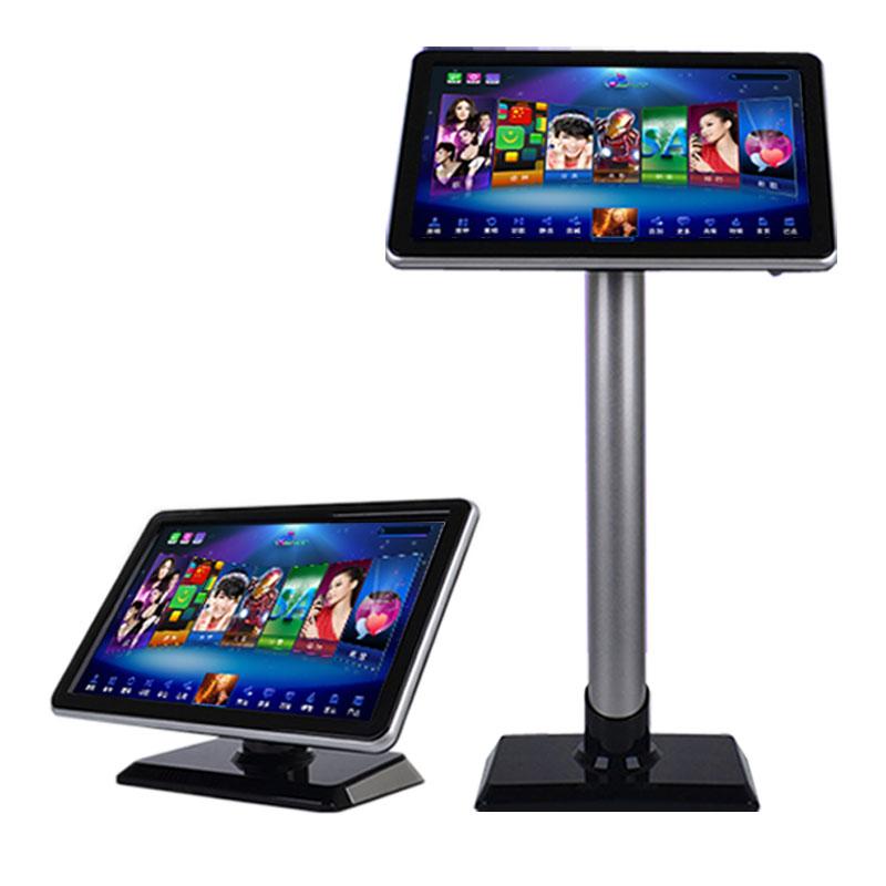 娱乐先锋家庭KTV点歌机家用卡拉OK点唱机触摸屏显示器19寸21.5寸