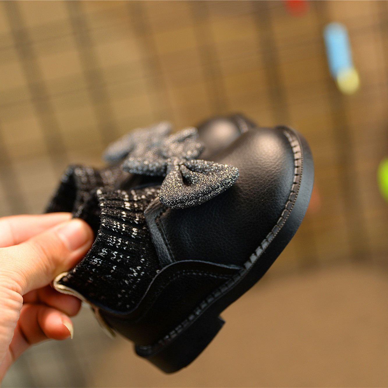 秋冬季童鞋女童婴儿软底1-3岁女宝宝公主鞋棉鞋学步鞋子0一2儿童