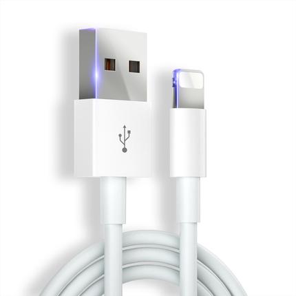 iPhone6数据线苹果6s充电线器11手机7Plus加长5快充闪充se单头8X短iphonex冲电P正品适用ipad古尚古XS Max