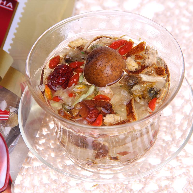 桂圆红枣八宝茶枸杞陈皮菊花金银花山楂绿茶组合花茶养生茶叶袋装