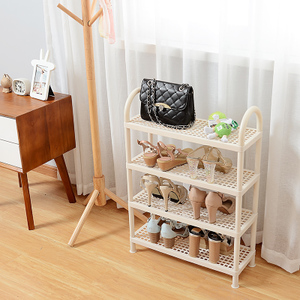 Plastic Shoe Rack Simple Doorway Behind The Economy Multi-level Dormitory College Student Bedroom Shoes Storage Household Shoe Cabinet