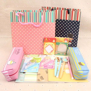 Junior high school student stationery set prizes primary school student gift box set practical daily school supplies children's day gift