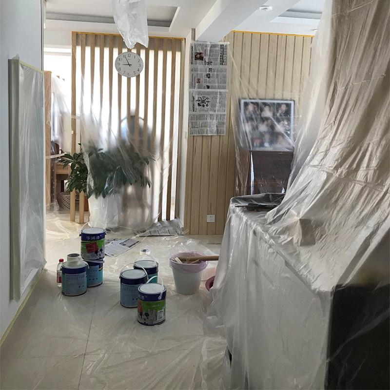 点击查看商品:一次性盖布装修布保护家具装修罩床防尘床罩沙发遮盖塑料膜遮灰布