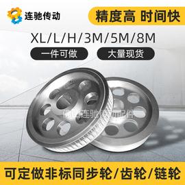 专业定做同步带轮 齿轮多楔带轮3M 5M 8M 14M MXL L H AT5 T10T20