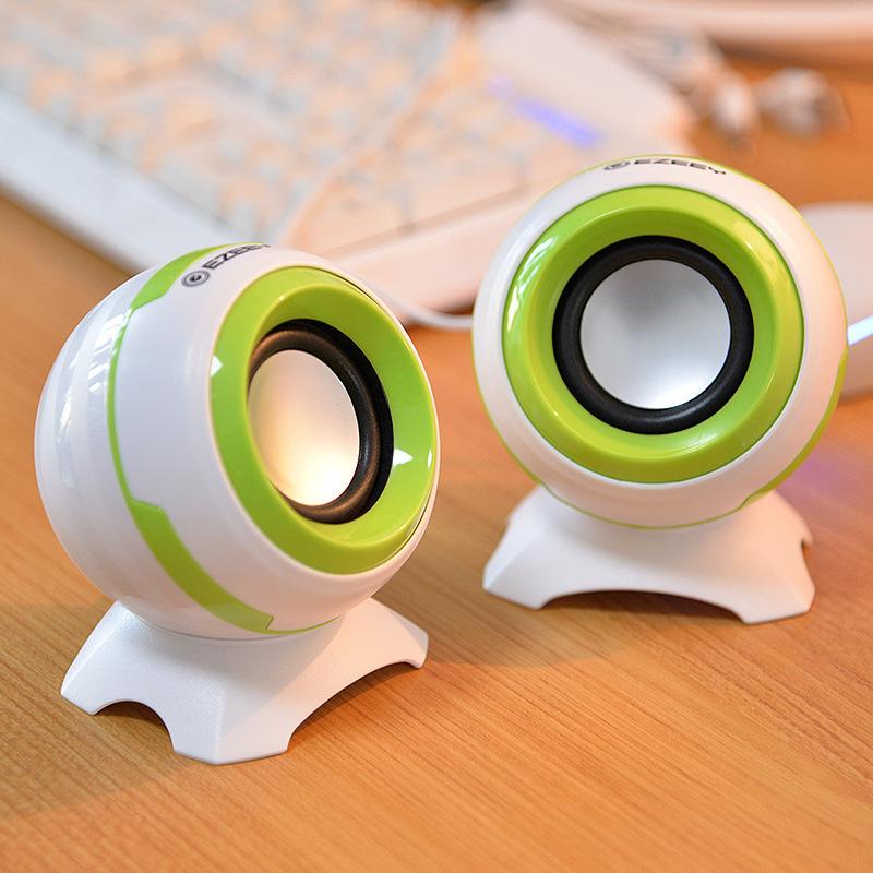 笔记本电脑音响台式机桌面小音箱办公室家用型有线喇叭usb接口图片