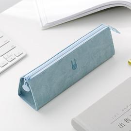 简约大容量笔袋韩版女生文具袋 ins日系初中高中生铅笔盒文具盒