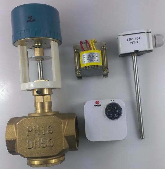 比例积分电动调节阀 开关量 电动二通阀 比例积分阀 dn25-dn65图片