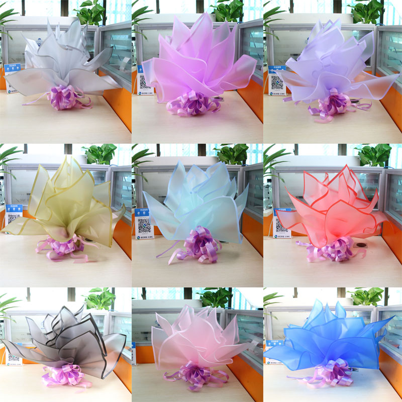 圣诞节平安果包装纸/包苹果的纸鲜花包装材料花店用品包花纸20张