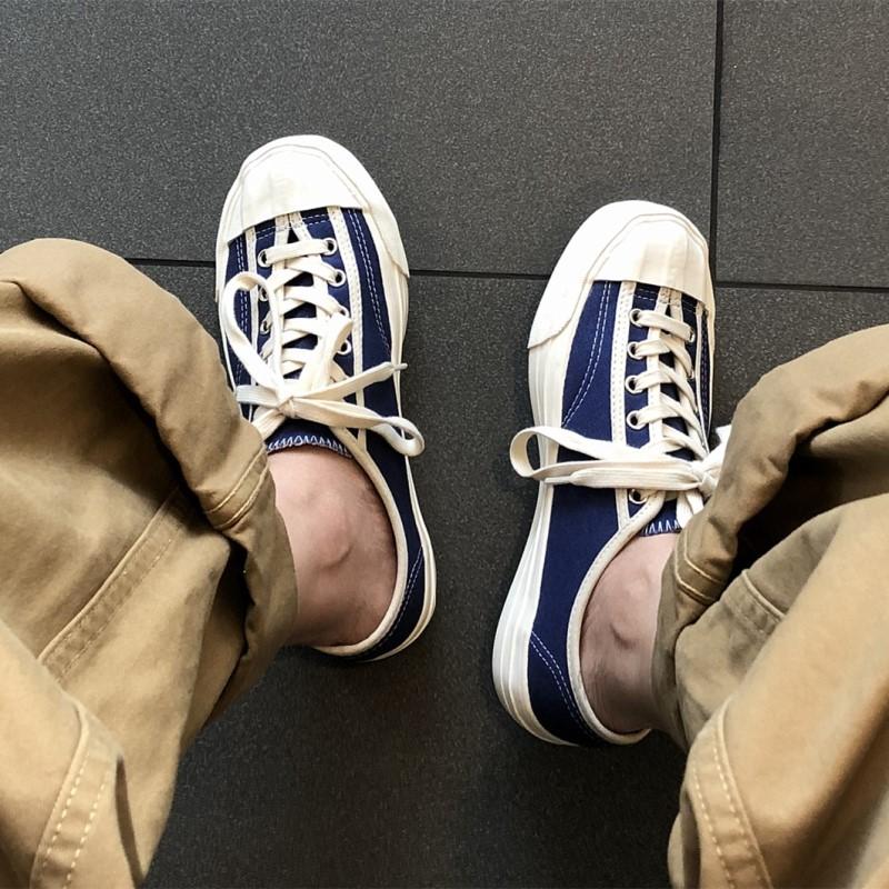 2018新款日系复古鞋子帆布硫化鞋男小白鞋韩版潮百搭板鞋夏季潮流