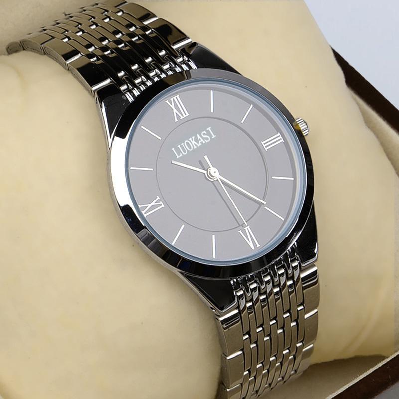 2018新款男士手表防水全自动石英表超薄抖音同款时尚非机械男表