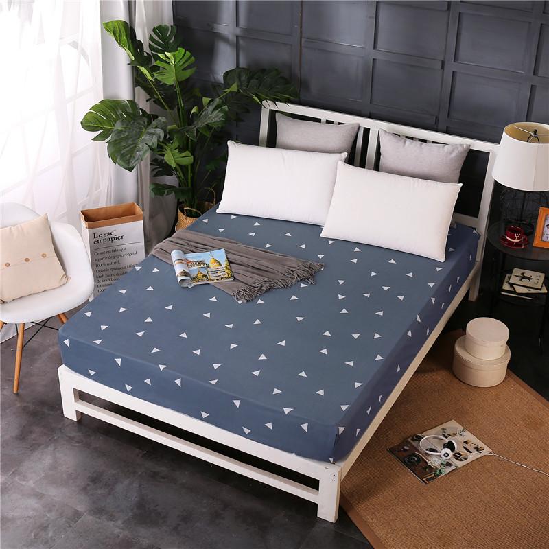 床笠单件 席梦思床垫保护套薄棕垫2.0m 防滑床罩1.5m1.8米床套