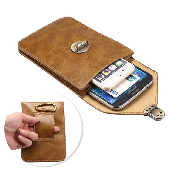 双手机腰包可穿皮带插卡5.5寸6寸小米6竖款多功能小挂包通用挂腰