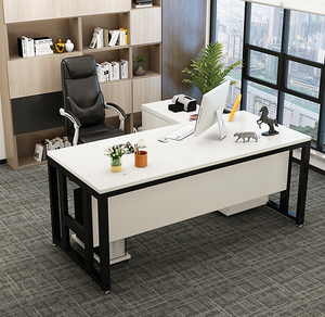 Boss table president table and chair combination simple modern office furniture manager supervisor table desk single desk