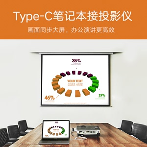Green Alliance Type-C to HDMI cable for Apple Computer Huawei Mate10 turn TV projector converter