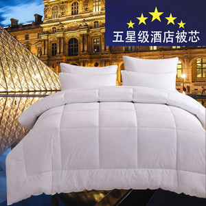 Hotel bedding in batches in summer quilt white cotton fiber spring and autumn air conditioning quilt quilt core in winter