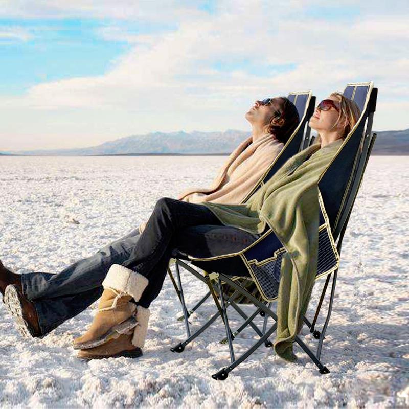 自驾游户外折叠椅子超轻便携式钓鱼椅马扎凳露营沙滩靠背休闲躺椅