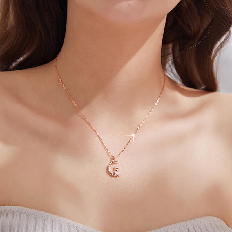 十二生肖本命年项链女夏纯银轻奢小众设计感锁骨链配饰品生日礼物