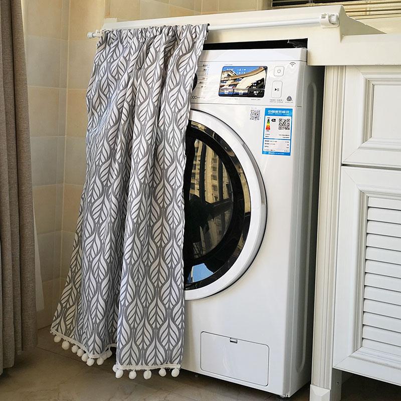 滚筒洗衣机罩 防晒帘 防水遮挡布小天鹅全自动洗衣机帘防尘帘海尔