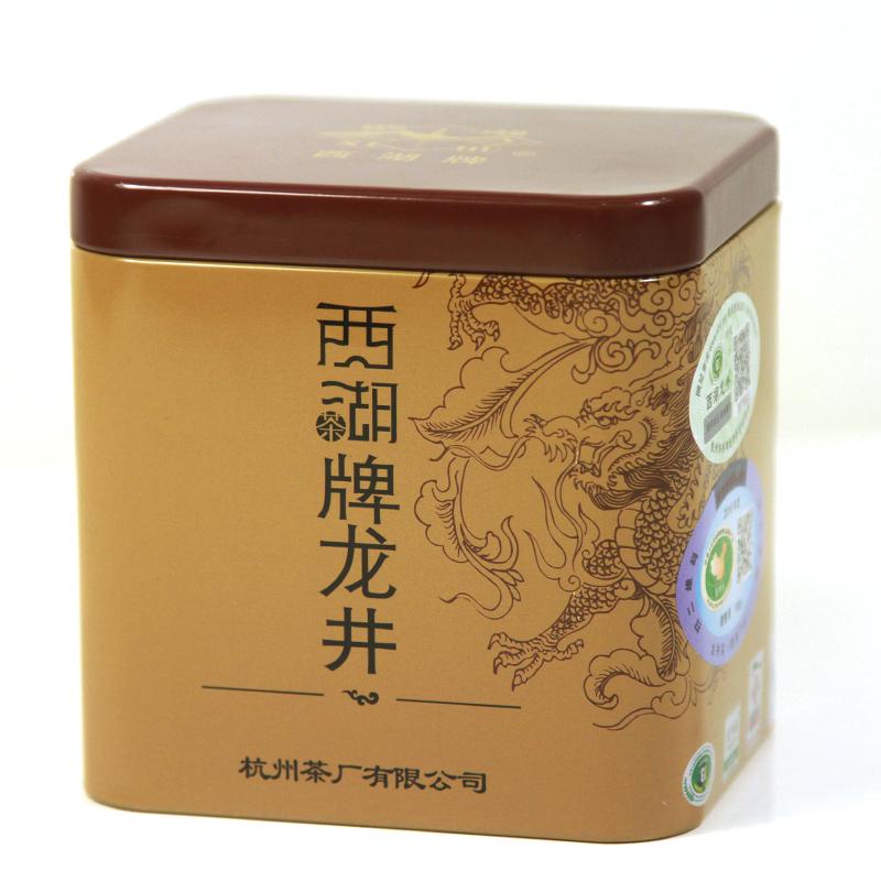 西湖牌西湖龙井茶叶明前一级绿茶100克 杭州茶厂春茶2017新茶
