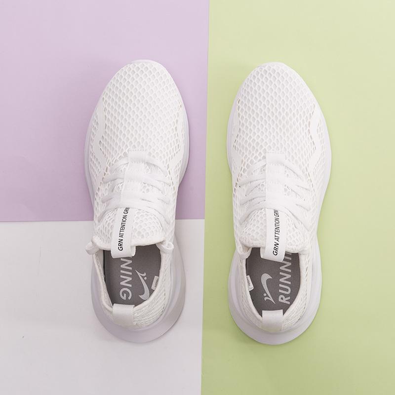 贵人鸟男鞋小白鞋2019年新款一脚蹬透气网面跑鞋秋运动鞋男跑步鞋