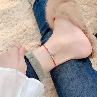 本命年红绳S925纯银十二星座许愿幸运脚绳手绳脚链女手链闺蜜礼物图片
