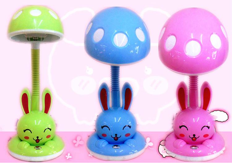 包邮光视宝卡通LED护眼台灯读书写字灯书桌灯卧室床头可爱兔子灯-光视宝台灯灭蚊灯