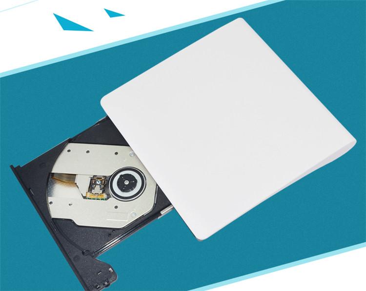 戴尔笔记本电脑外置移动光驱USB3.0刻录机DVD光盘读取光驱盒rom