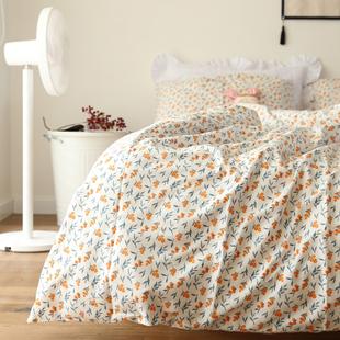 清仓处理 微瑕纯棉床单枕套床笠单双人被套1.5m1.8m学生宿舍床上
