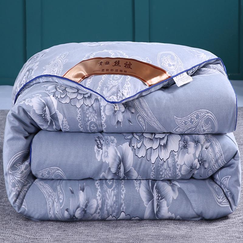加厚保暖被子冬被丝棉被空调春秋被单人床双人冬季棉被芯被褥冬天