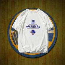 金州勇士队服库里纪念衫夏gn9纯棉篮球rxt恤衫宽松半袖T恤潮
