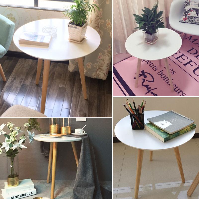 圆形茶几角几 北欧 桌小边几床头桌客厅小桌子 沙发边角几小茶几