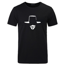 范品社lq0 V煞别xc软个性印花休闲男款短袖电影T恤