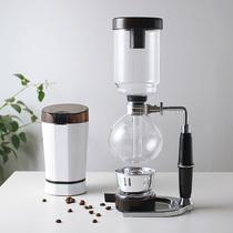 家用国货TCA式虹吸咖啡壶机煮耐高温玻璃摩卡壶过滤咖啡手冲套装