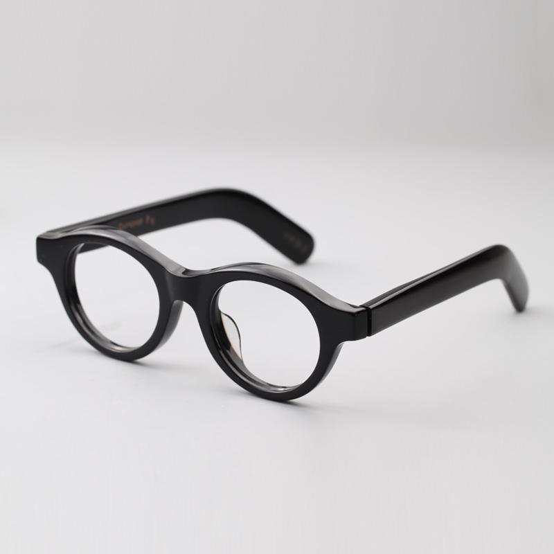 圆框板材眼睛架 复古眼镜框男 大框眼睛框 眼镜框潮男近视眼镜架