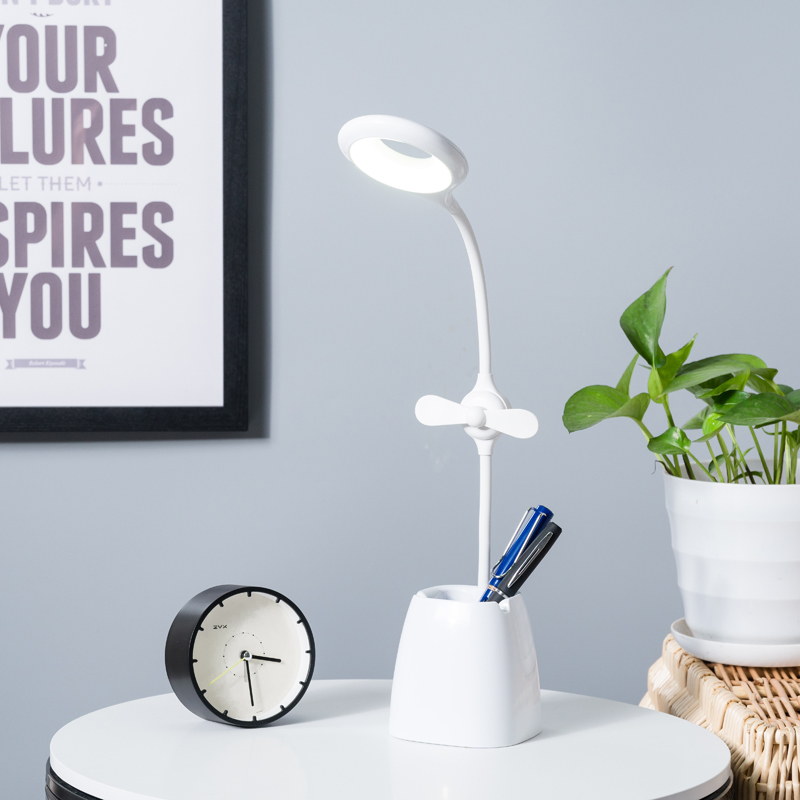 调节台灯的工作原理