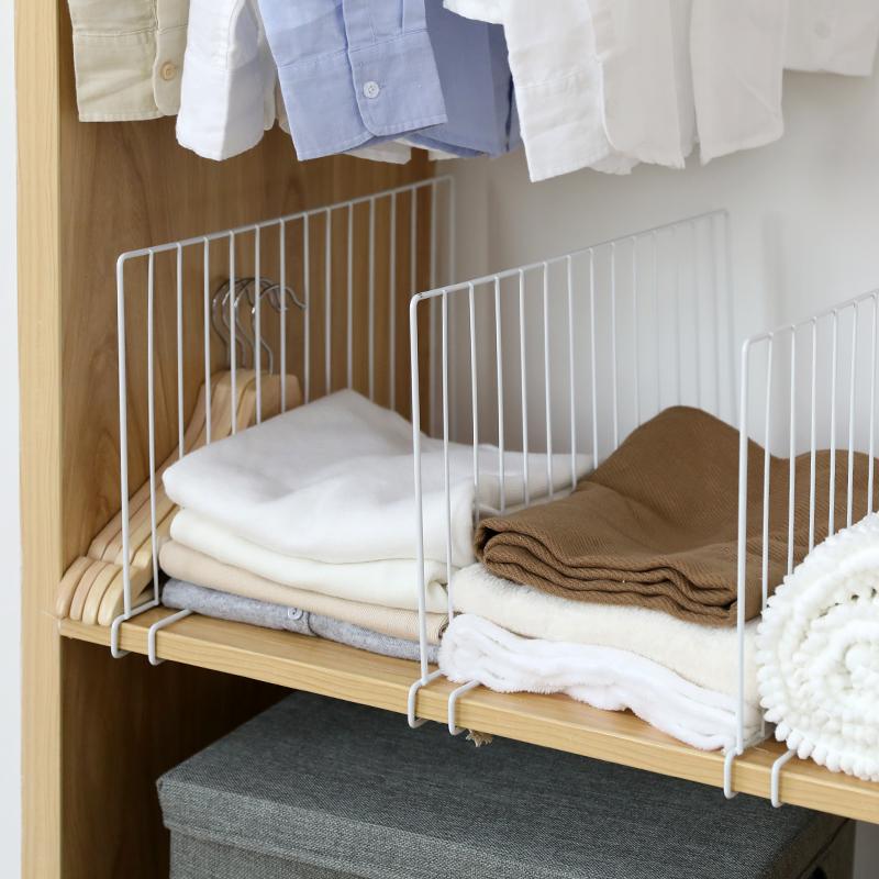 日式衣柜分隔栏 柜子分层架隔层隔板宿舍收纳分类架